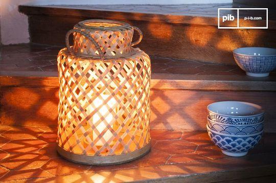 Lanterne en bambou Saïgon