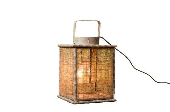 Lanterne tresse de bambou Détouré