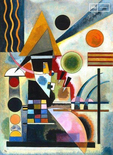 L'art du Bauhaus - Swinging par Wassily Kandinsky, 1925