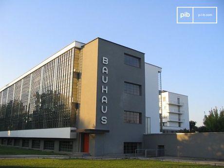 Le bâtiment principal du Bauhaus