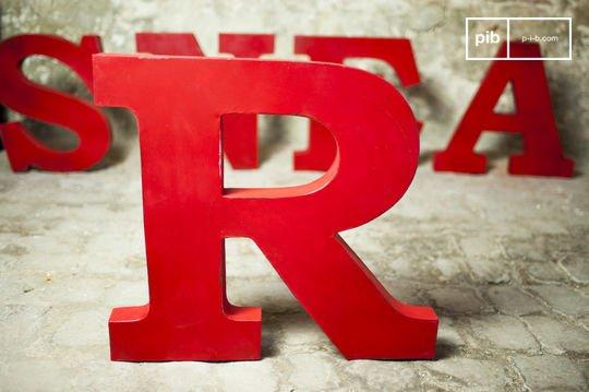 Lettre d'enseigne R