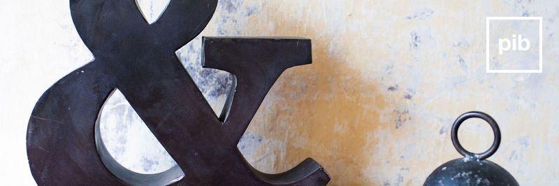 Lettres style ancienne d'enseignes bientôt de retour en collection