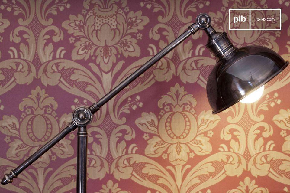 La liseuse orientable en métal est une magnifique lampe vintage qui éclairera votre intérieur de
