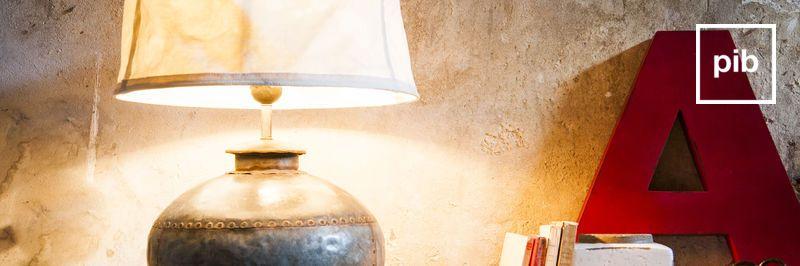 Luminaires au look ancien bientôt de retour en collection