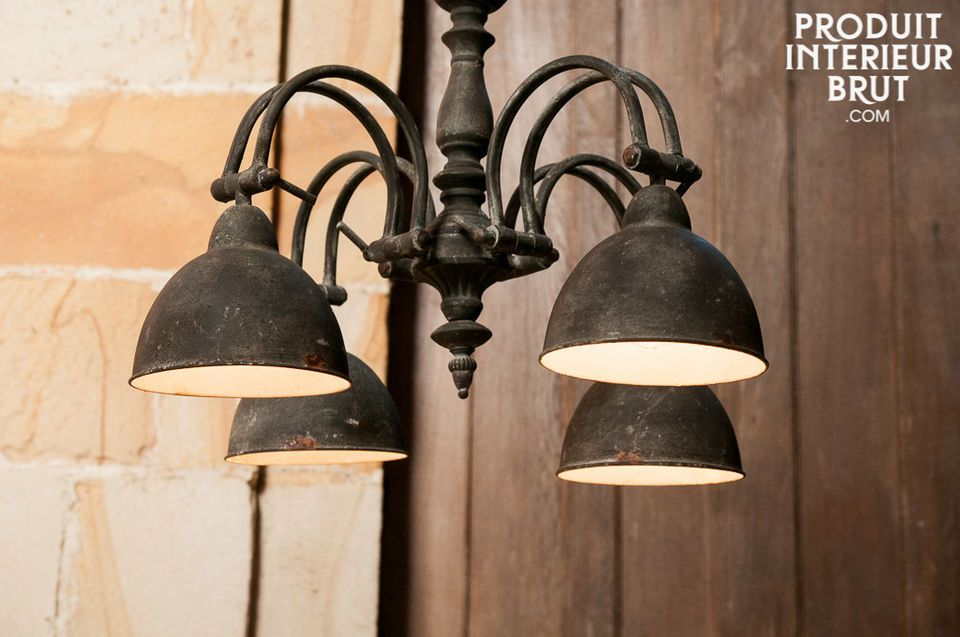 lustre s rule une lampe retro pour une ambiance campagne pib. Black Bedroom Furniture Sets. Home Design Ideas