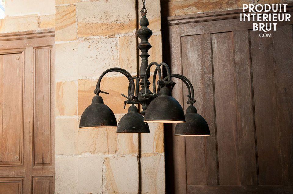 Une lampe retro pour une ambiance campagne bohème