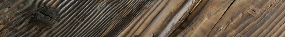 Mise en avant matière Mange-debout en bois Sullivan