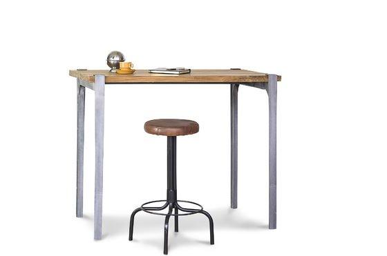 mange debout wellington table haute en teck massif pib. Black Bedroom Furniture Sets. Home Design Ideas