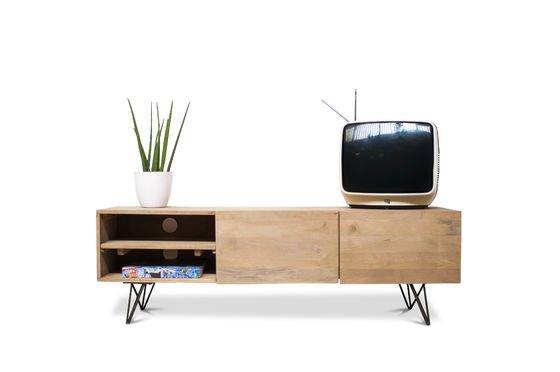 Meuble TV en bois Zurich Détouré