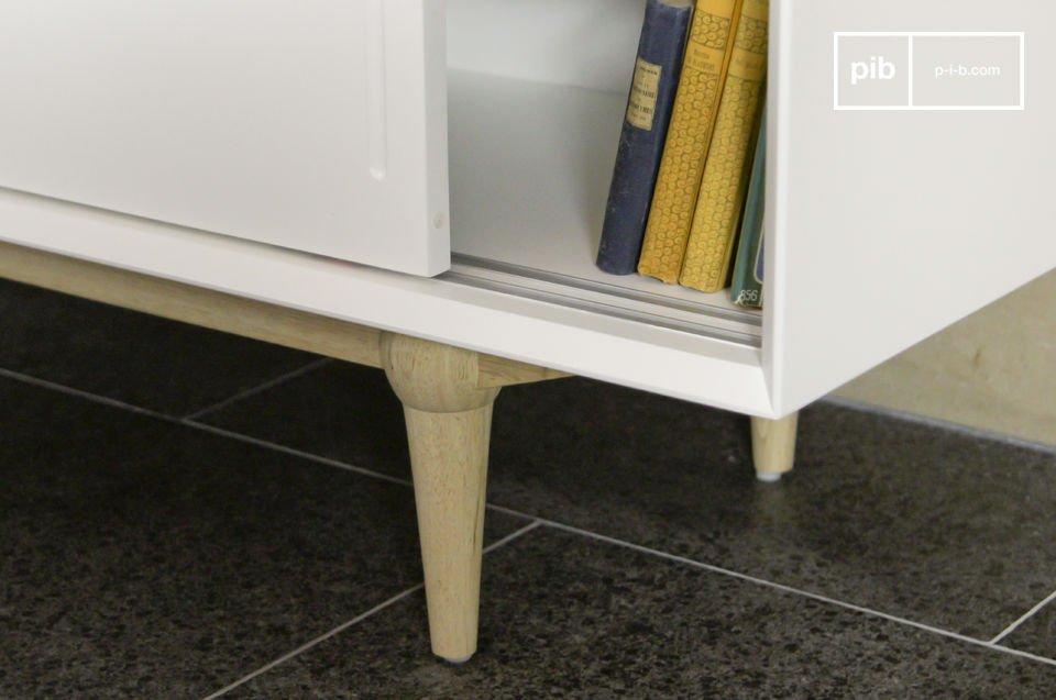 Optez pour un meuble tv scandinave qui allie la praticité d\'une conception moderne et