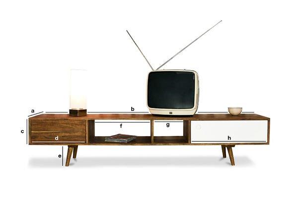Dimensions du produit Meuble TV Scandinave Stockholm