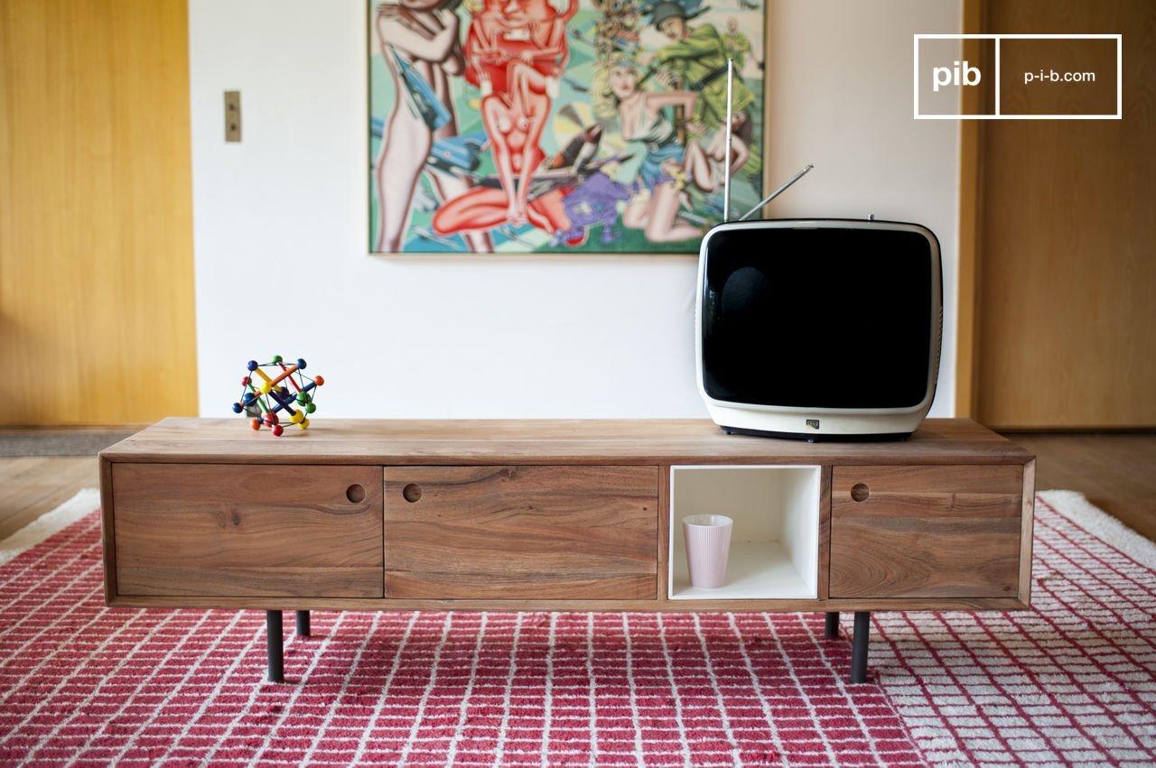 Meuble Tv Balkis Reliefs G Om Triques Pib # Meuble Tv Bas En Bois