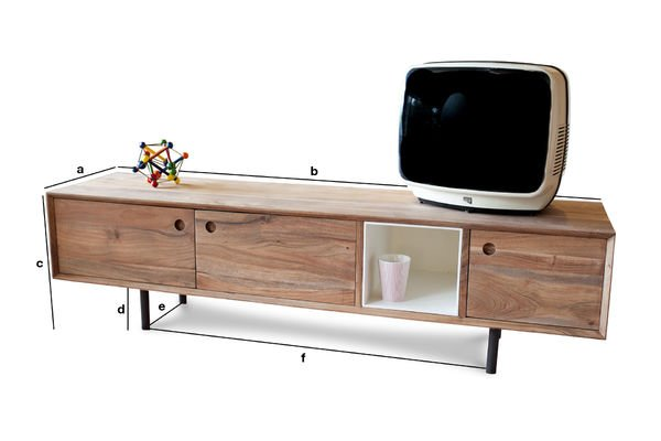 Meuble Tv Dimension Of Meuble Tv Vintage Bascole Design Haut En Contrastes Pib