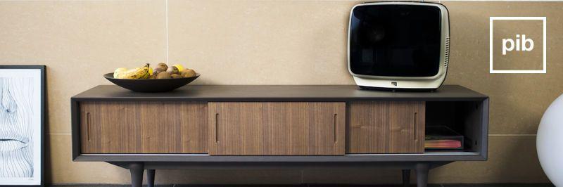 Meubles TV en bois et métal