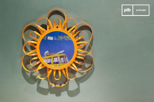 Miroir Aurinko orange