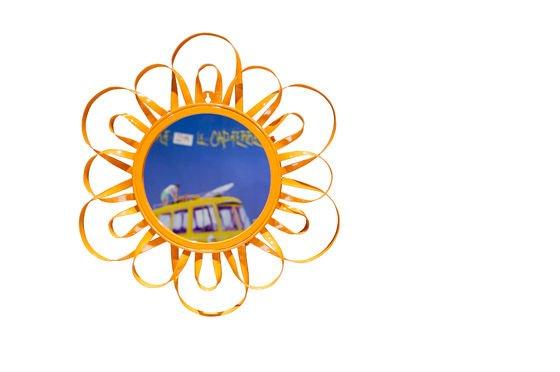 Miroir Aurinko orange Détouré