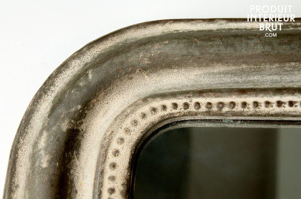 Le cachet du métal patiné