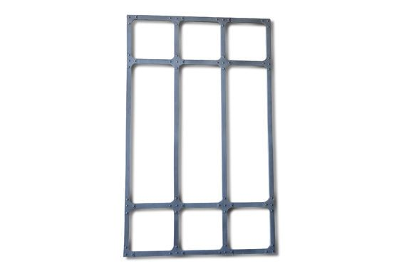 Miroir d'atelier XXL à cadre métallique Détouré