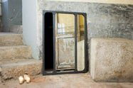 Miroir Eiffel style industriel