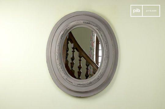Miroir en bois Napoléon