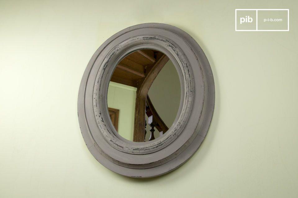 Le miroir bois Napoléon est un accessoire de décoration murale qui  apportera une touche de déco