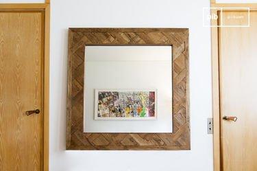 Miroir en bois Queens