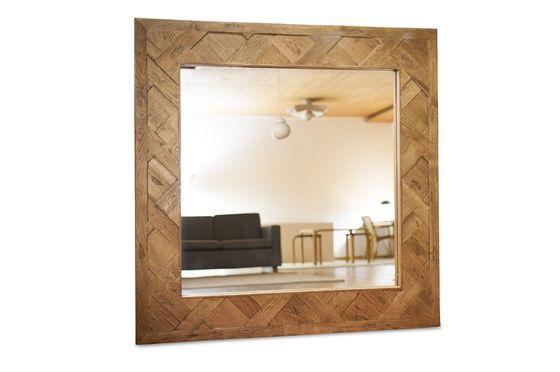 Miroir en bois Queens Détouré