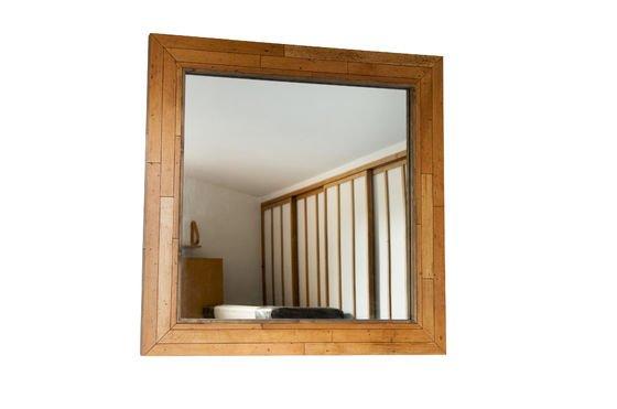 Miroir en bois Sheffield Détouré