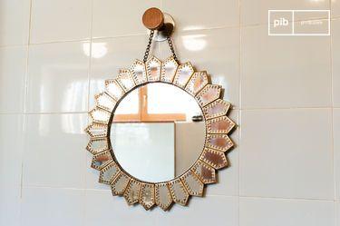 Miroir en laiton Aurinko