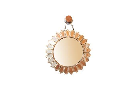 Miroir en laiton Aurinko Détouré