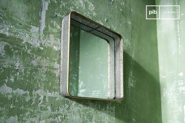 Miroir en métal Olonne