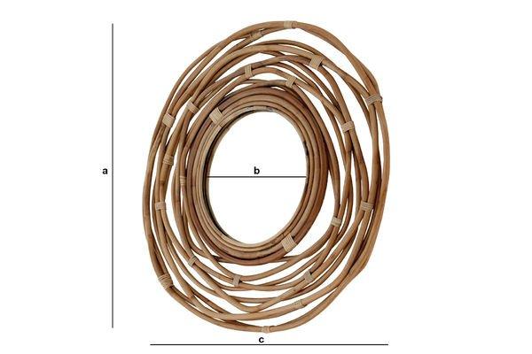 Dimensions du produit Miroir Linnëa