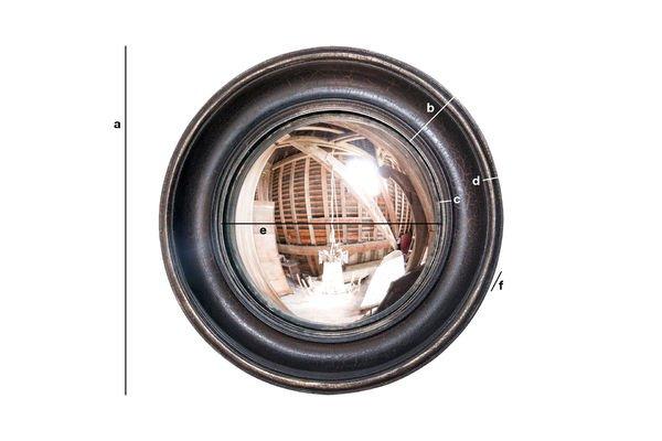 Dimensions du produit Miroir Magellan