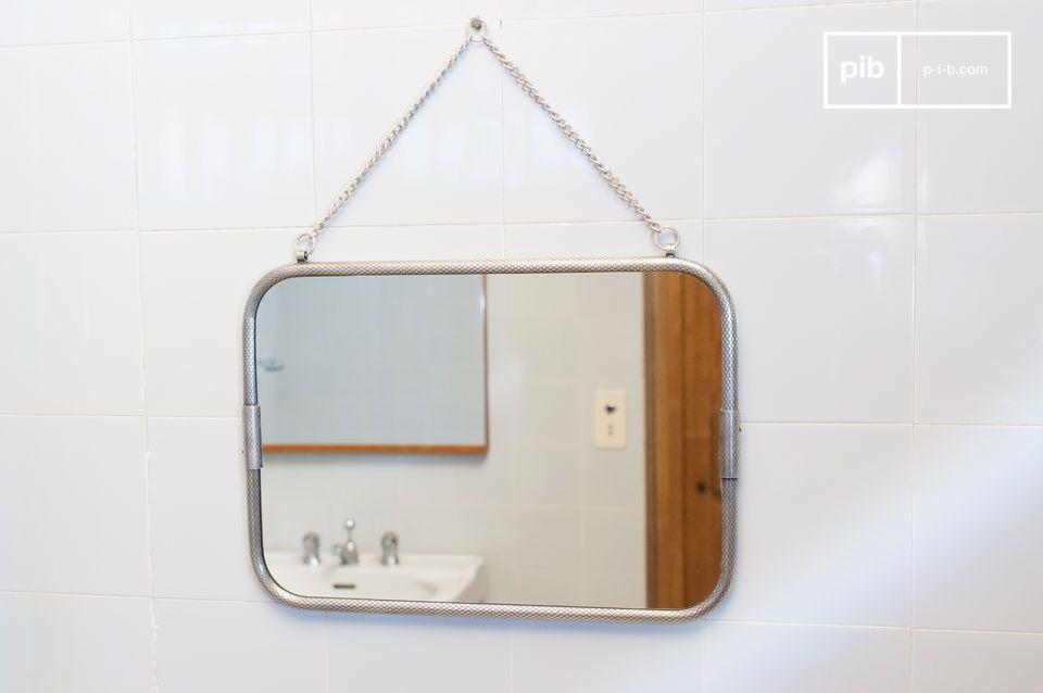 Miroir mural à chaînette Gabin