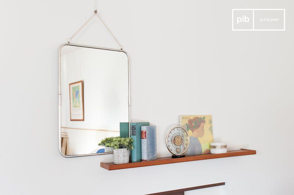 Miroir d'inspiration ancienne à suspendre