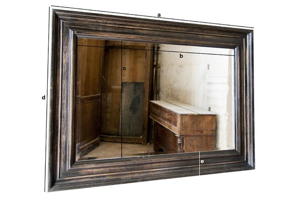 Dimensions du produit Miroir Sigara