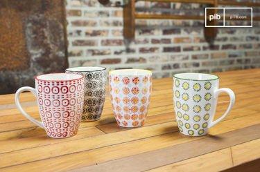 Mugs à motifs Julia