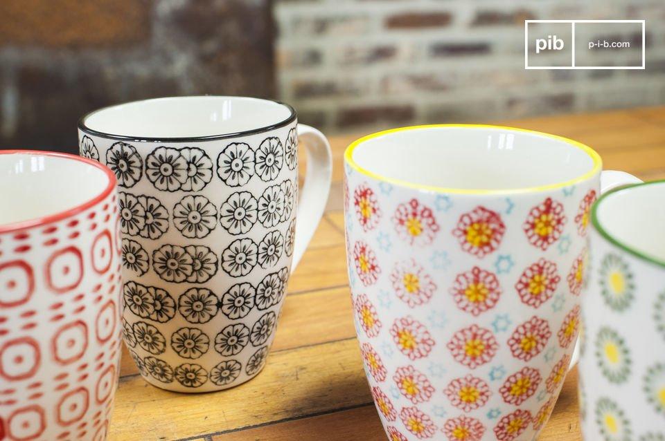 Les mugs Julia sont des pièces qui vous séduiront par leur originalité et apporteront une note