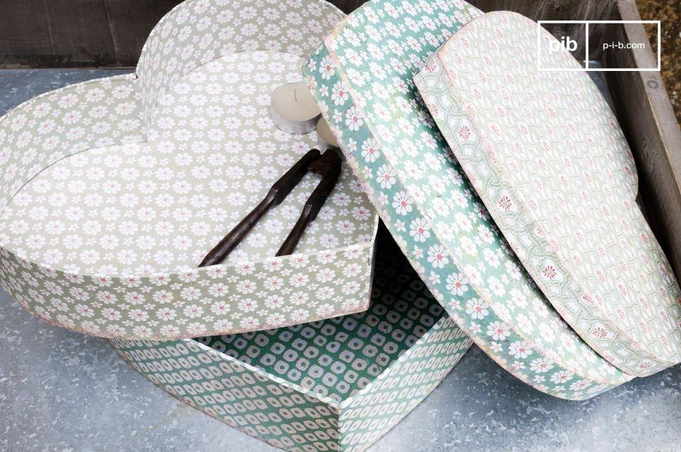 La paire de boîtes Birquine vous permettront de faire entrer la gaieté dans votre intérieur