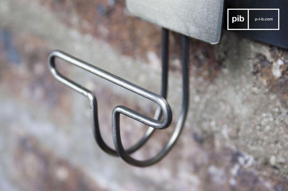 Crochets métal vendus par deux