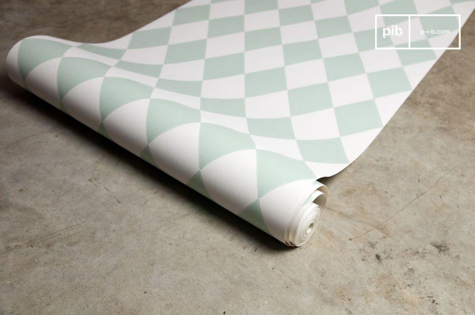 Papier peint Harlequin mint