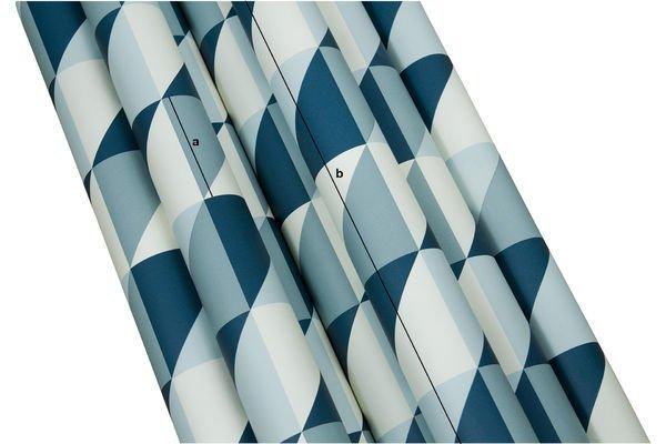 Dimensions du produit Papier-peint Square Skive
