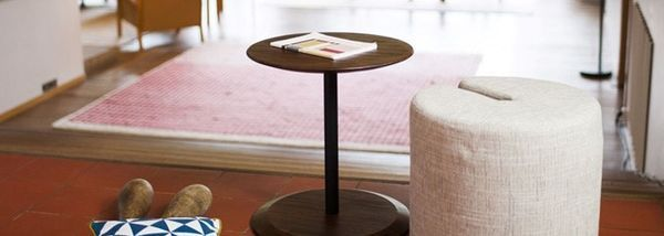 Petit meuble et double fonctionnalité
