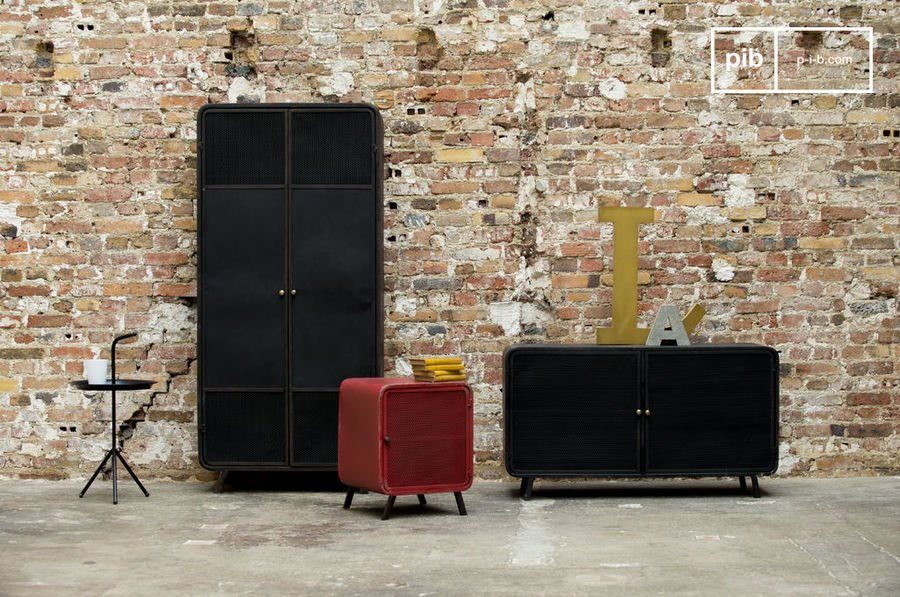 mobilier industriel pour un style r tro ind niable. Black Bedroom Furniture Sets. Home Design Ideas