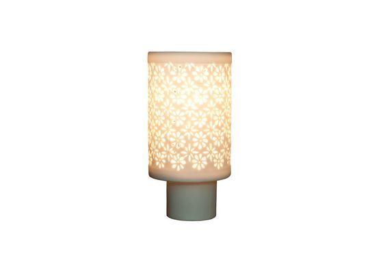Petite lampe porcelaine Flowers Détouré