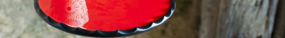 Mise en avant matière Petite table Cadix