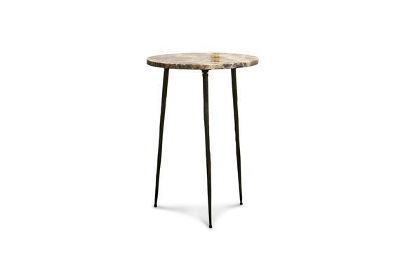 Petite table d'appoint en marbre Vilma Détouré