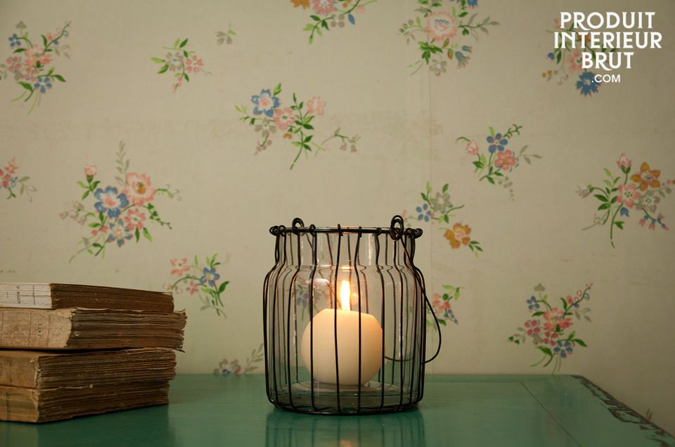Une touche romantique lumineuse à suspendre ou à poser