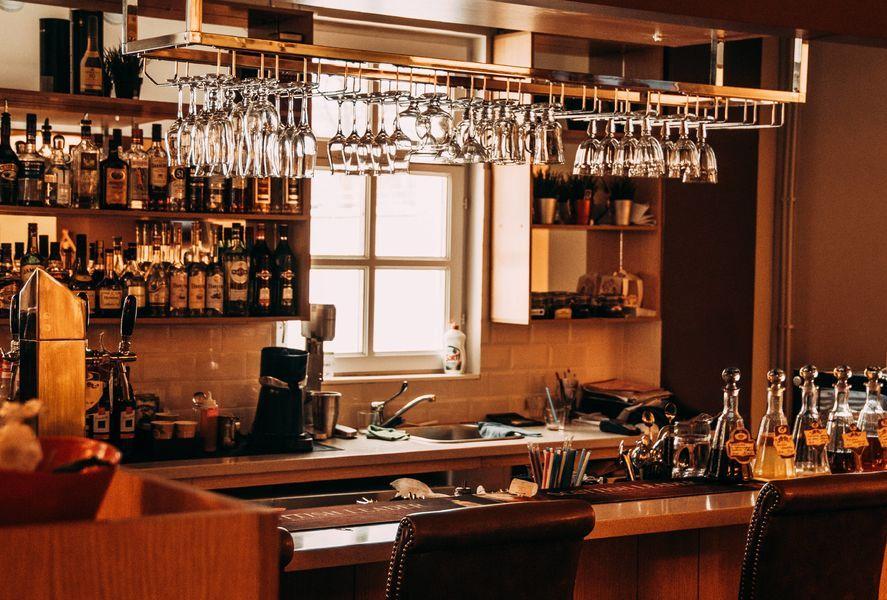 pièce intérieur pour bar