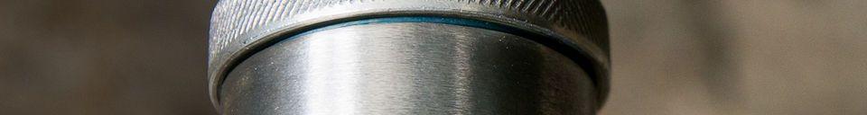 Mise en avant matière Plafonnier d'atelier 24cm fushia